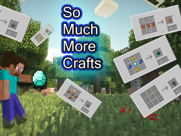 This mod will add many new necessary crafts!