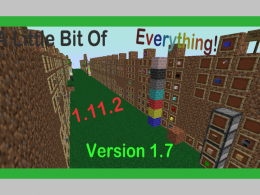 A Little Bit Of Everything Mod 1.7 {1.11.2}