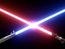 Lighsaber colors are herre in ALPHA version