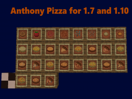 Anthony's Pizza for 1.7 and 1.10