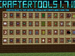 Creates objects that before you could not create more 2 new item//August 6 to add more crafteos that could not before creating this mod but now if//REMEMBER ERRORS REPORT EVERYBODY HAVE