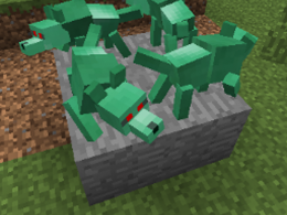 Four Jade Wolf Statues