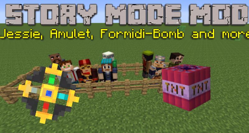 Minecraft Story Mode Mod Mcreator