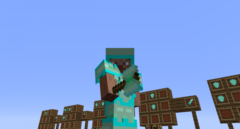 Some nice armor! (This armor is called: SupGreen Armor)