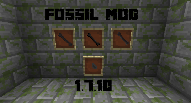 Screenshot of the fossils.