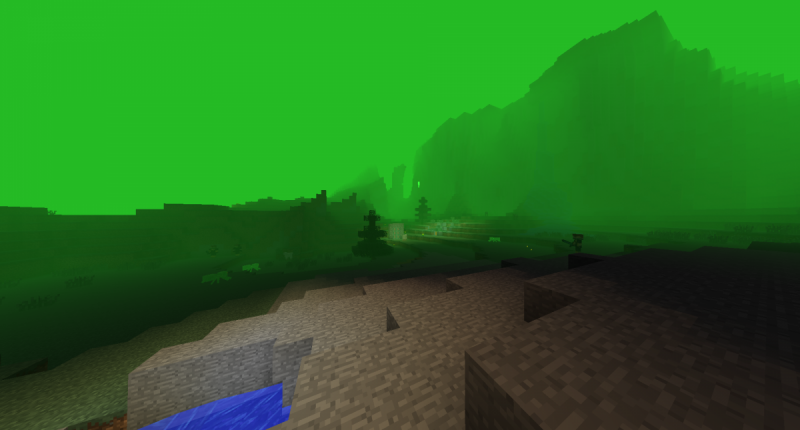 The new contaminated dimension 0.0.2 (lots of bad mobs!)