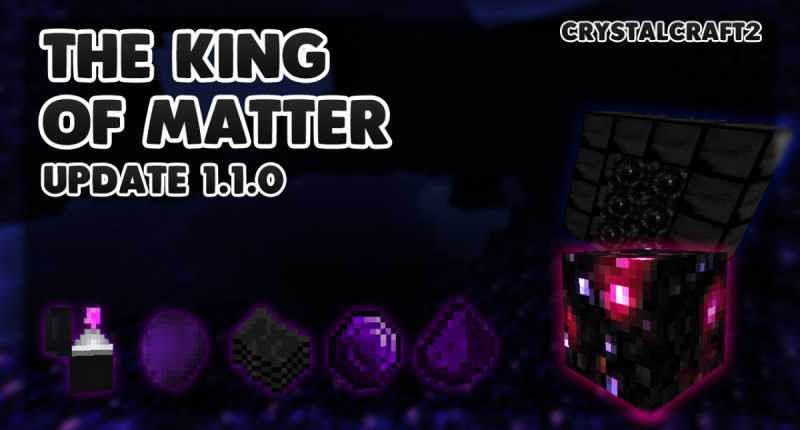 The King of Matter Update: 1.1.0!
