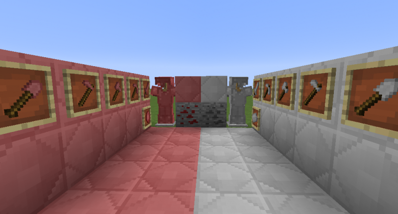 Ores, armours and blocks
