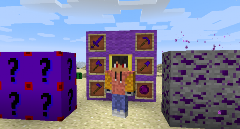 Purple Lucky Blocks