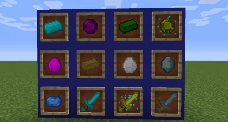 lots of Ores