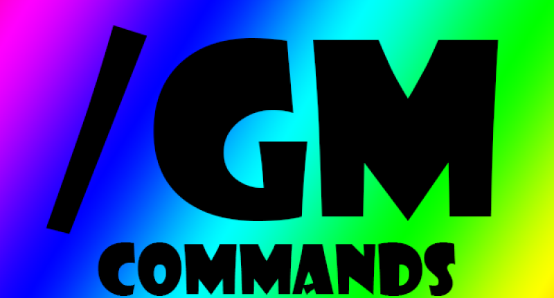 /GM Commands