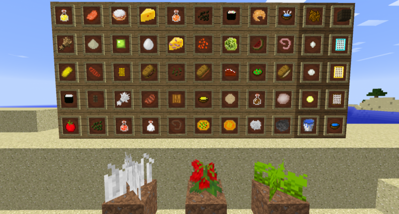 54 items, 3 crops The Kingdom of Fruits -  Exquiste Meals
