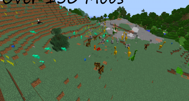 Over 150 to 200 mobs!