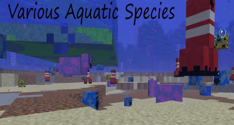 Various Aquatic Species!