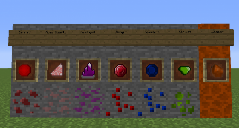 More Gems Mod (Minecraft 1.12.2)