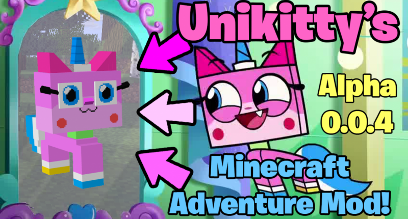 Unikitty's Minecraft Adventure Mod