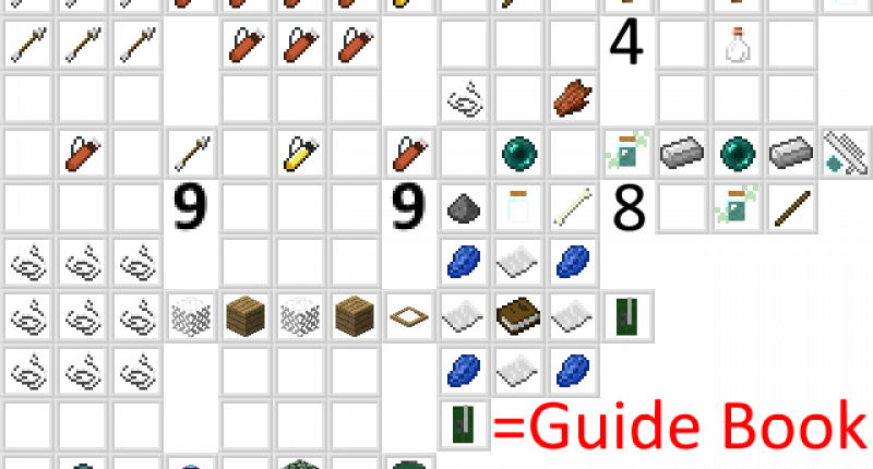 You only need to remember the guide book recipe, all others can be seen ingame, though the guide