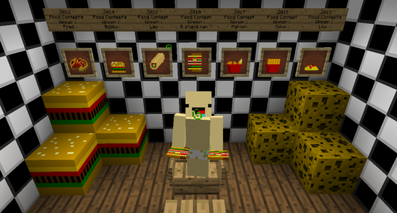 The ennemy of the hunger on minecraft.