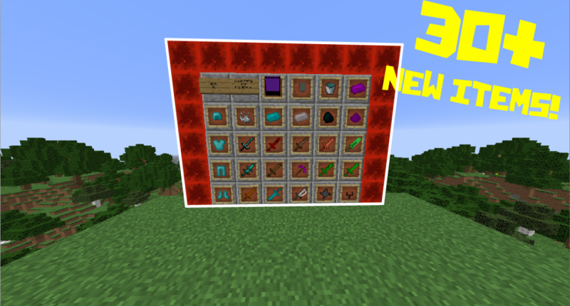 All the Swords Minecraft Mod 1.12.2/1.13