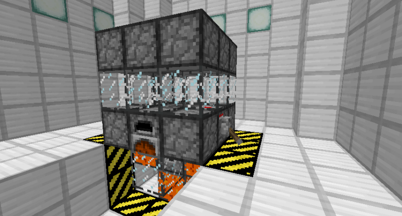 This is the best configuration of the lava generator with 1 controller and 5 storage tanks.