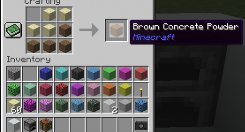 Crafting Concrete Powder from Colored Gravels