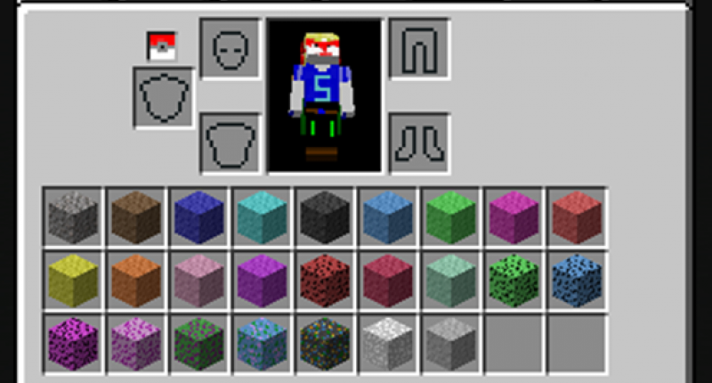 Creative Inventory Tab with Gravels