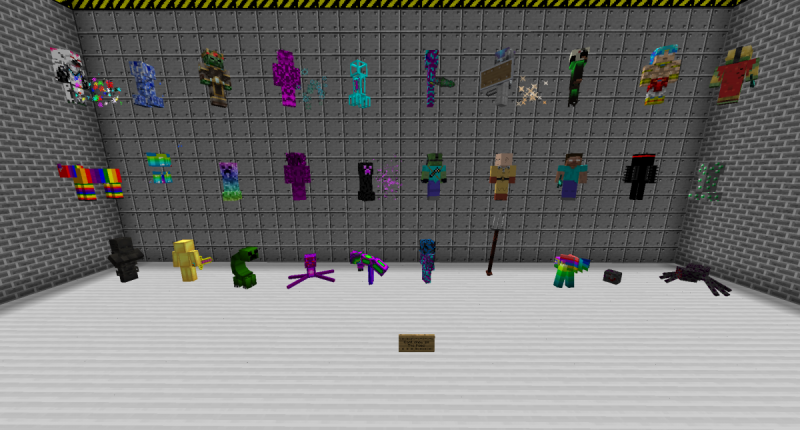 Mob Not showing all of them because there are too many mobs / bosses to show in one Picture