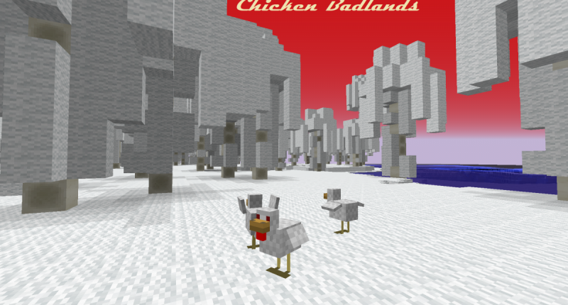 Chicken Badlands Biome