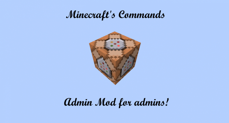 Minecraft's Commands!