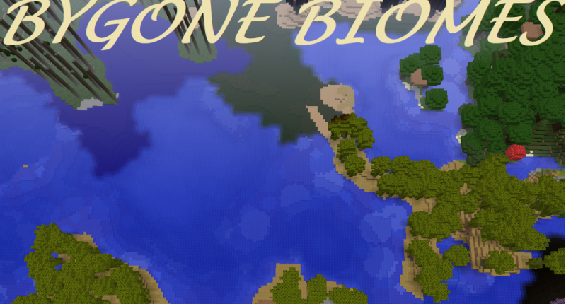 Bygone Biomes Mod for Minecraft 1.12.2