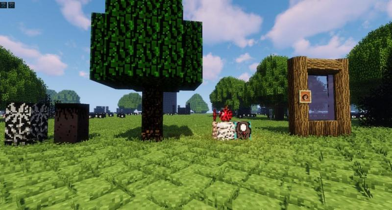 NewBiomes Trees And Blocks