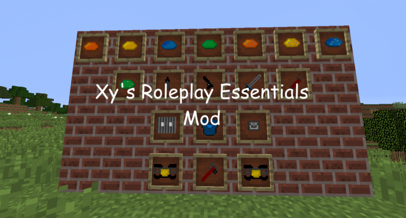Adds New Items for roleplaying.