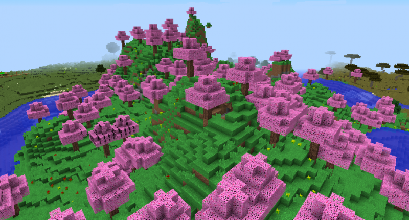 A brand-new warm biome added here.