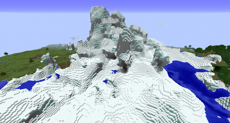 Pretty cold biome but it looks absolutely amazing!