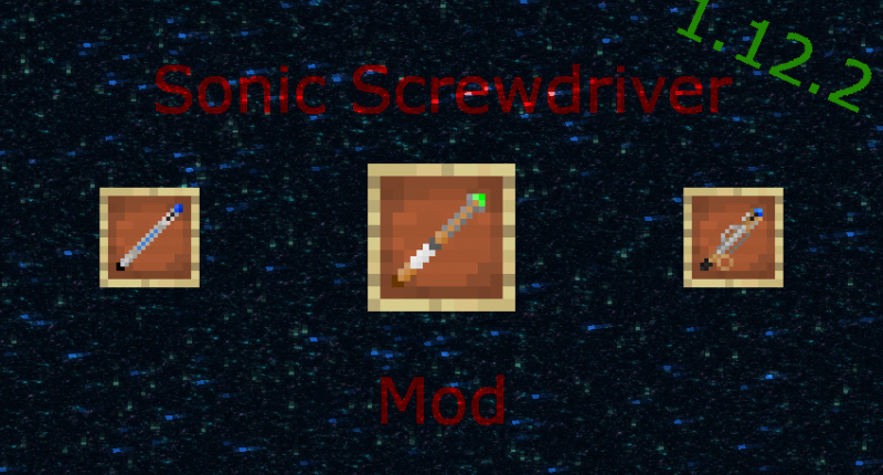 Sonic Screwdriver mod for 1.12.2