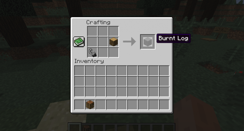How to make burnt wood
