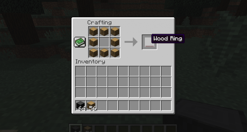 How to craft a wooden ring
