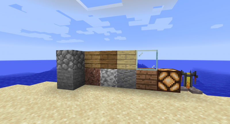 A few items that have been updated with new textures!