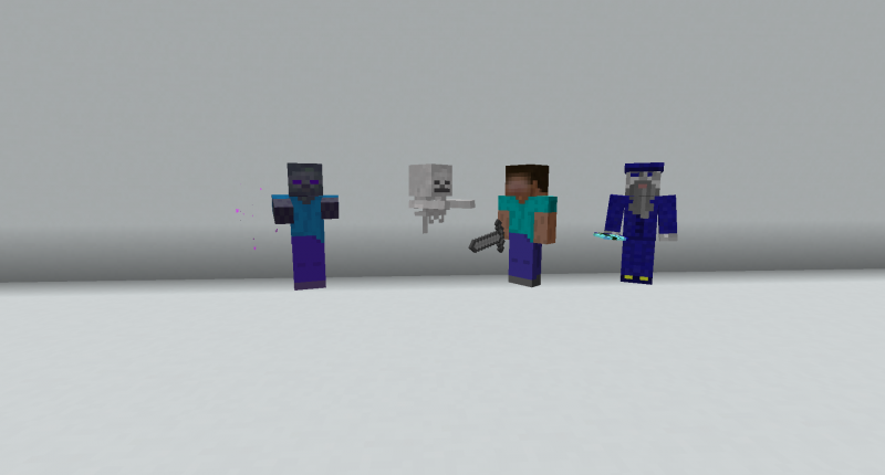 The mobs of The Rules of the Arcane mod.