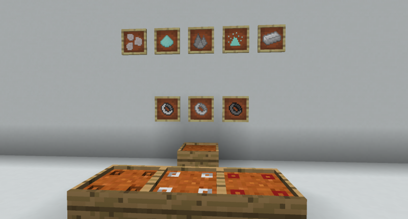 New items and textures!