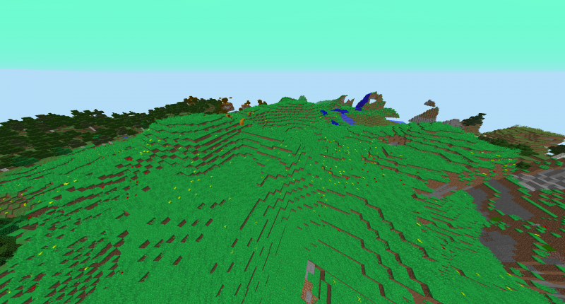 New biomes, Special one is Flower Plains