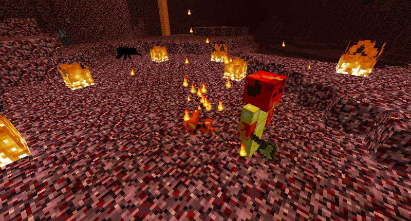 Nether Expanded Mobs