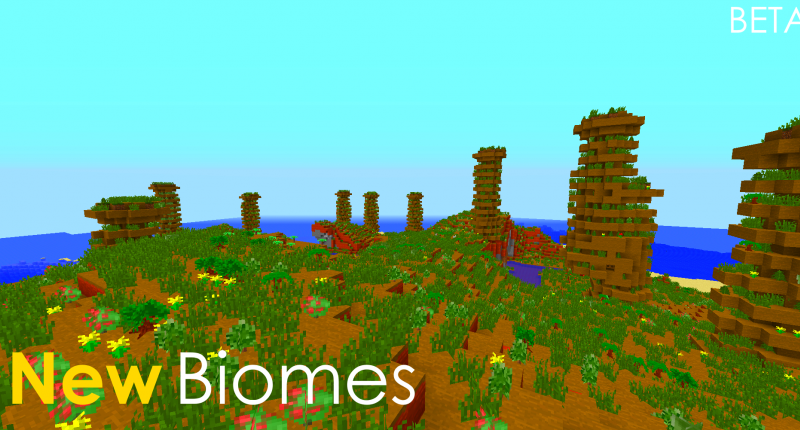 New Biome (canyonBryce)
