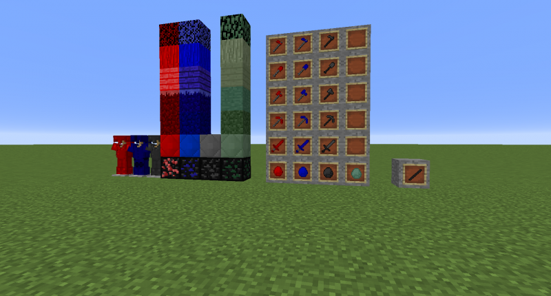 New Ores, Gems, Tools, Weapons and armor!