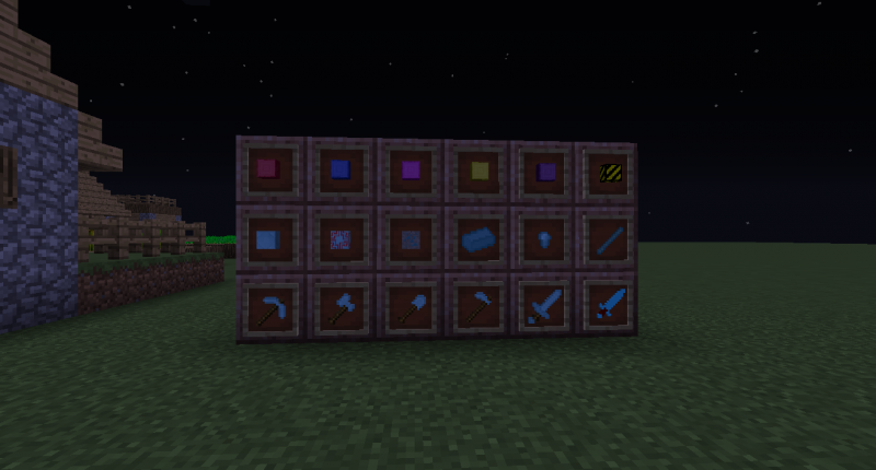 Tout les blocks du mod | All mod's blocks