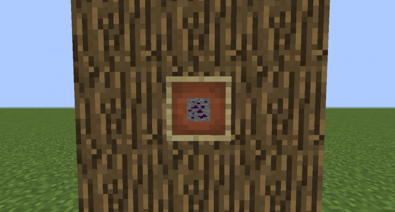 Amethyst Ore is generated in the Overworld.