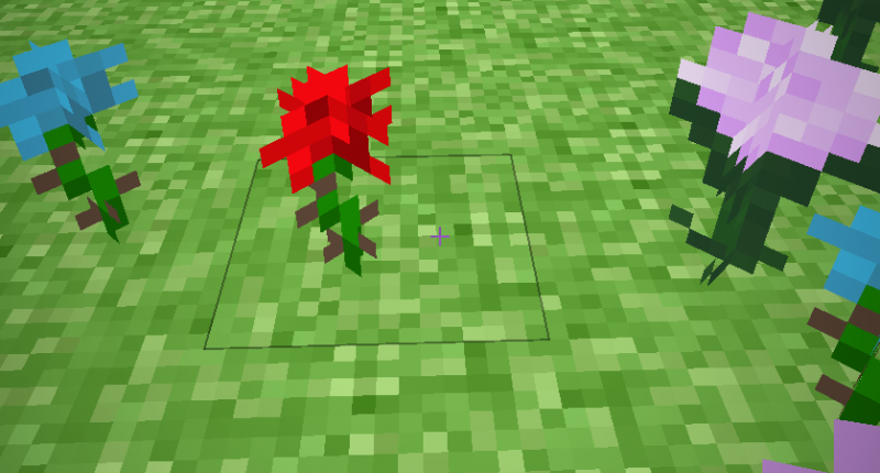 -Rose The missed rose flower -Cyan Rose The Missed pocket edition Rose -paonia Texture found in game filese