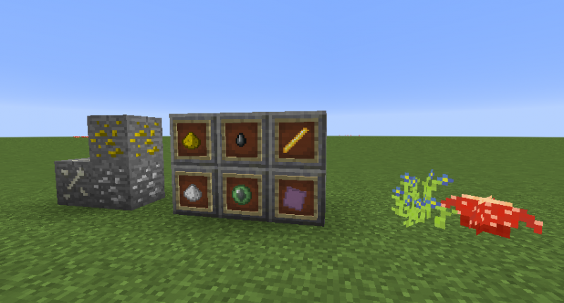 These Are All Items That Are Currently In This Mod.