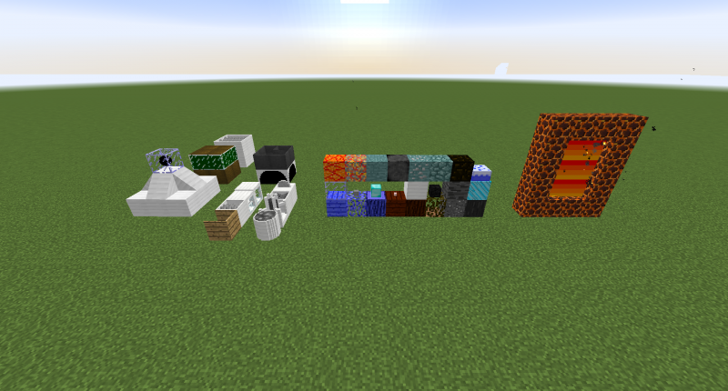 All blocks and machines