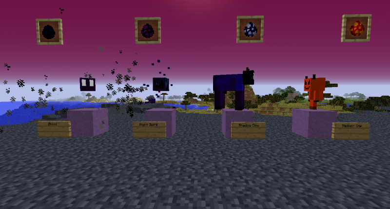 I actually created 4 new mobs...